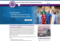 American Holistic Nurses <br>Credentialing Corporation