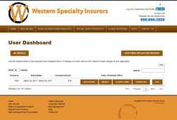 Western Specialty Insurors