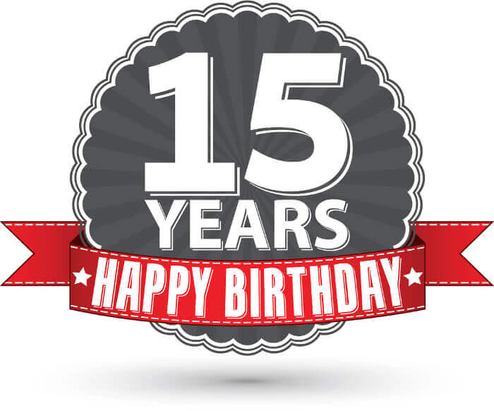 15 Years in Web Design Business Happy Birthday IDP!