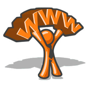 Web Hosting IDP Orange Mascot